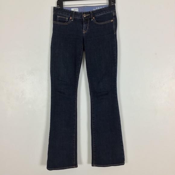 GAP Denim - Gap 1969 Curvy Bootcut Jeans Dark Wash Stretch